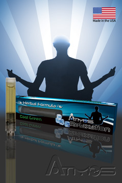 Relaxation Herbal Formula Cartridge Cool Green