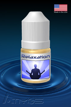 Relaxation Herbal Formula Bottle Cool Green