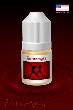 Energy Herbal Formula Bottle Cool Raspberry